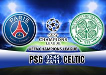 soi kèo Paris Saint Germain vs Celtic