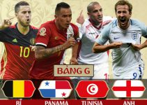 Bảng G World Cup 2018
