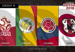 Bảng H World Cup 2018
