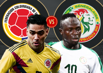 soi kèo Senegal vs Colombia
