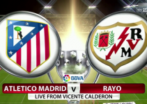 soi kèo Atletico Madrid vs Rayo Vallecano